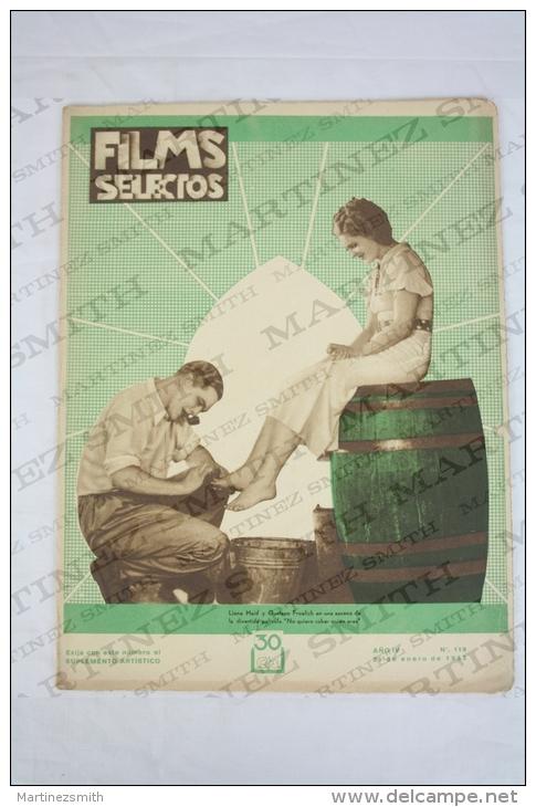 1933 Movie Actors Magazine - Boris Karloff, Gary Cooper, Liane Haid, Tom Douglas,  Irene Ware, Alexander Kirkland... - Revistas