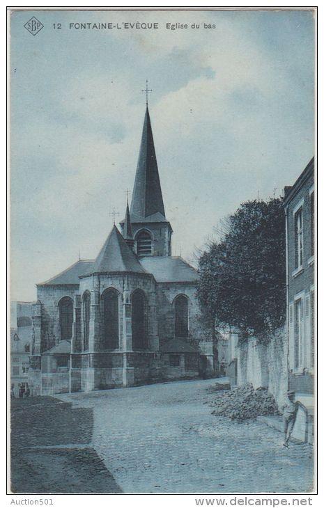 24365g EGLISE Du BAS - Fontaine-l'Evèque - 1910 - SBP 12 - Fontaine-l'Evêque