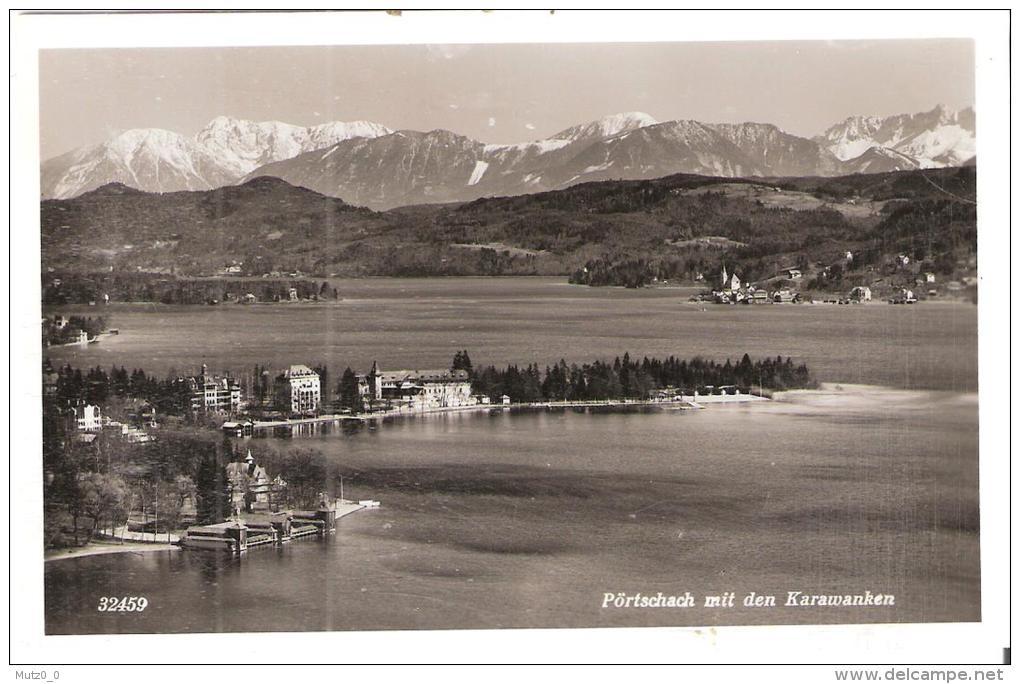 AK 0038  Pörtschach Am Wörthersee Mit Den Karawanken - Verlag Postkarten Industrie Um 1940 - Pörtschach