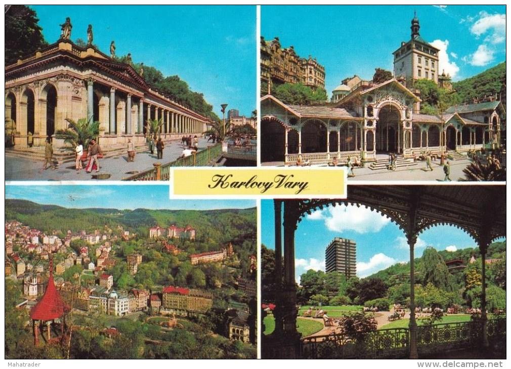 Czech Republic Karlovy Vary Stamp - Tchéquie