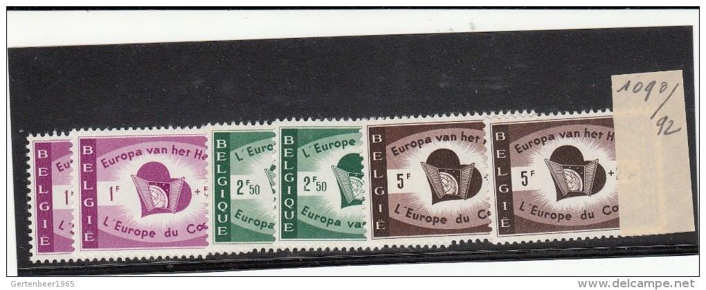 Nr. 1090 / 1092  Postfris   2 X - Unclassified