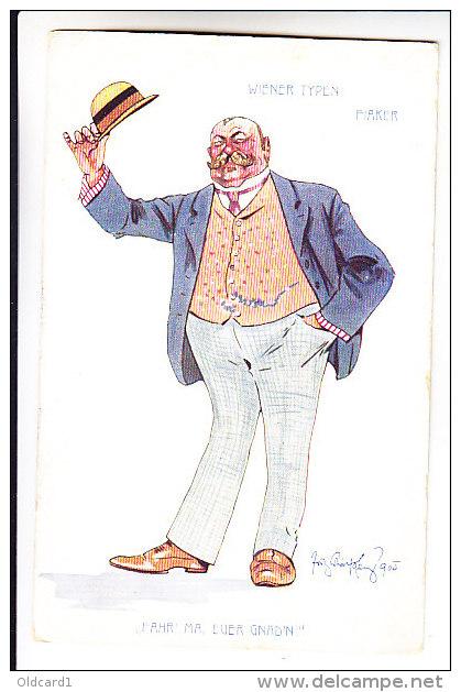 Schoenpflug, Fritz Humor WIENER TYPEN FIAKER - Schoenpflug, Fritz