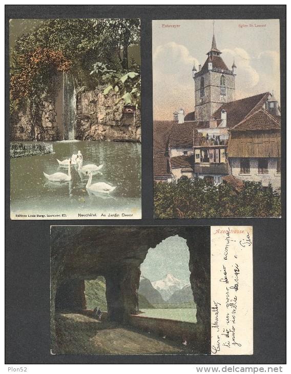 8482-LOTTICINO DI N°. 6  CARTOLINE LOCALITA´ SVIZZERA-FP - 5 - 99 Karten