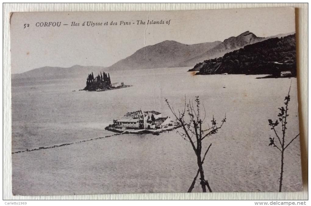 Corfou Iles D'Ulysse Et Des Pins Non Viaggiata F.p. - Grecia