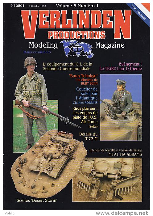 - VERLINDEN - Magazine Volume 5 Numéro 1 - Octobre 1993 - Français - Littérature & DVD