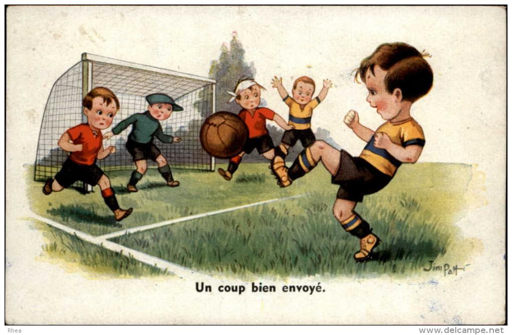FOOTBALL - Dessin De JIM PATT - Calcio