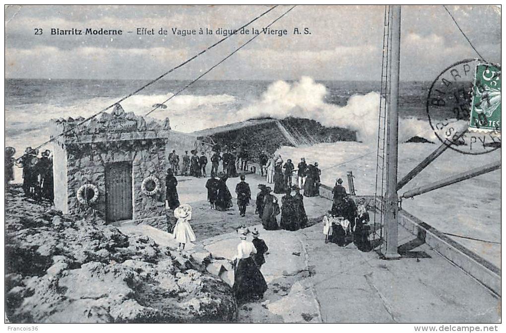 Lot Sympa De 83 CPA De Biarritz 100% SCANNEES Plage Port Casino Rues Etc. - Biarritz