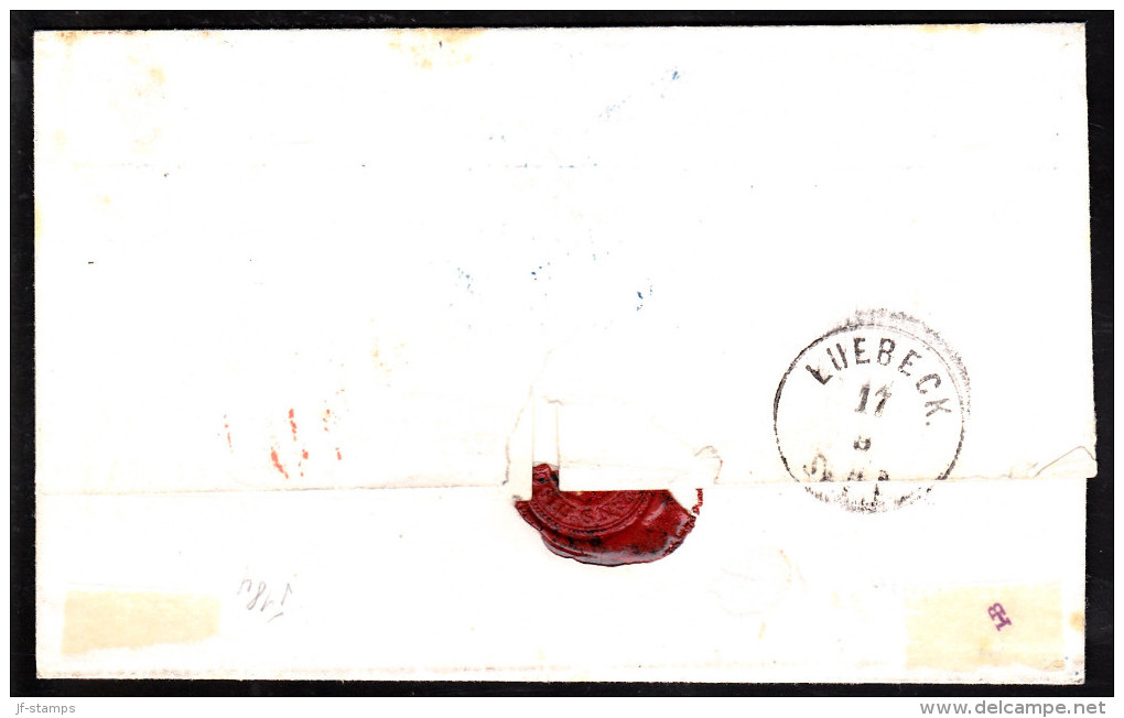 1865. Dotted Spandrels.  Fantastic  30 Skilling Franking On Beautiful Cover From ODENSE... (Michel: 5+) - JF112127 - Briefe U. Dokumente