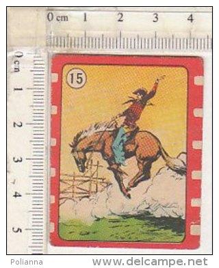 PO9744C# FIGURINE CICOGNA NANNINA Anni '50 Serie WESTERN N.15 RODEO - Autres