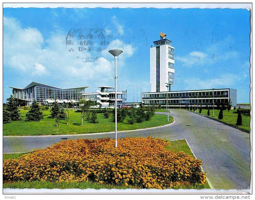 AK FLUGWESEN AERODROME FLUGHAFEN AIRPORT BEOGRAD ALTE POSTKARTE 1970 - Aerodrome