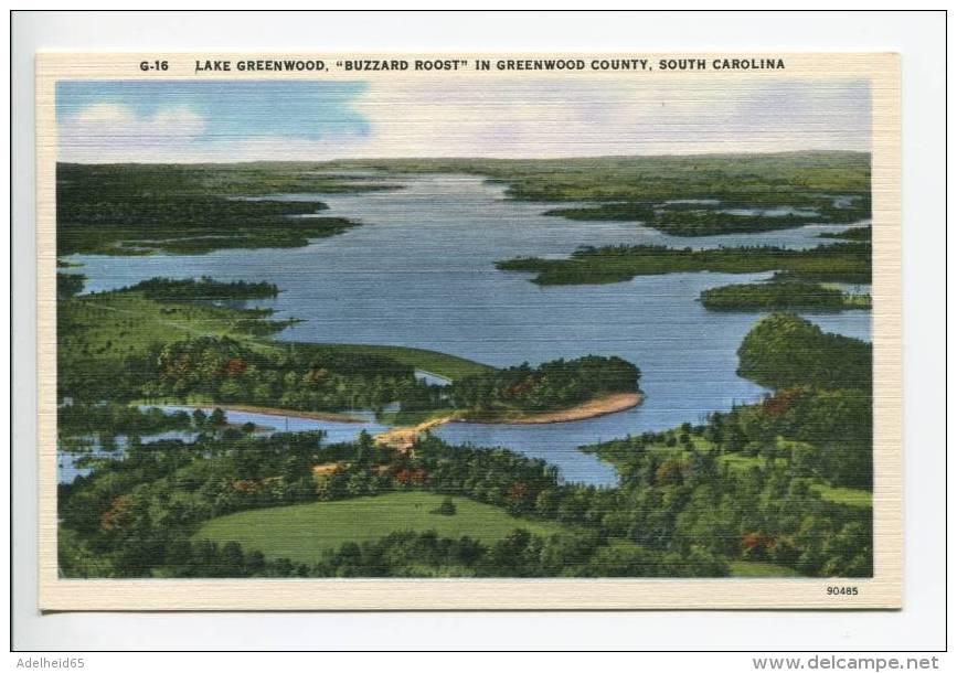 OE6/ Lake Greenwood Buzzard Roost Greenwood County SC - Greenwood
