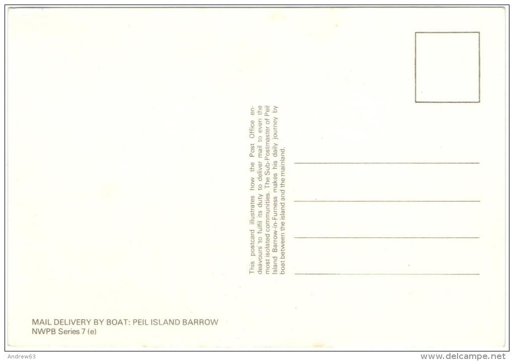 Cartolina - Mail Delivery By Boat: Peil Island Barrow - New - Poste & Postini