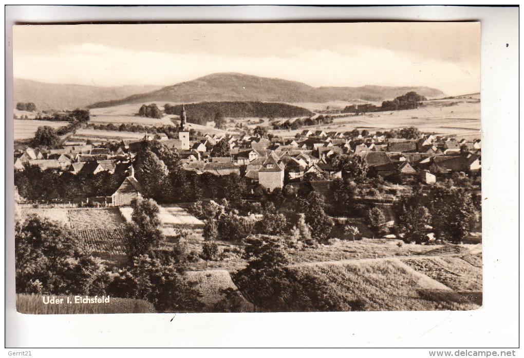 0-5632 UDER, Eichsfeld, Panorama - Heiligenstadt