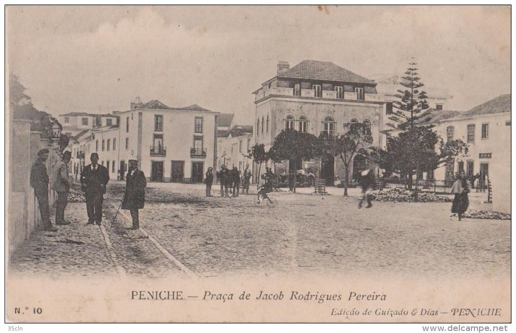 PENICHE  -  Praça  De  Jacob  Rodrigues  Prreira - Leiria