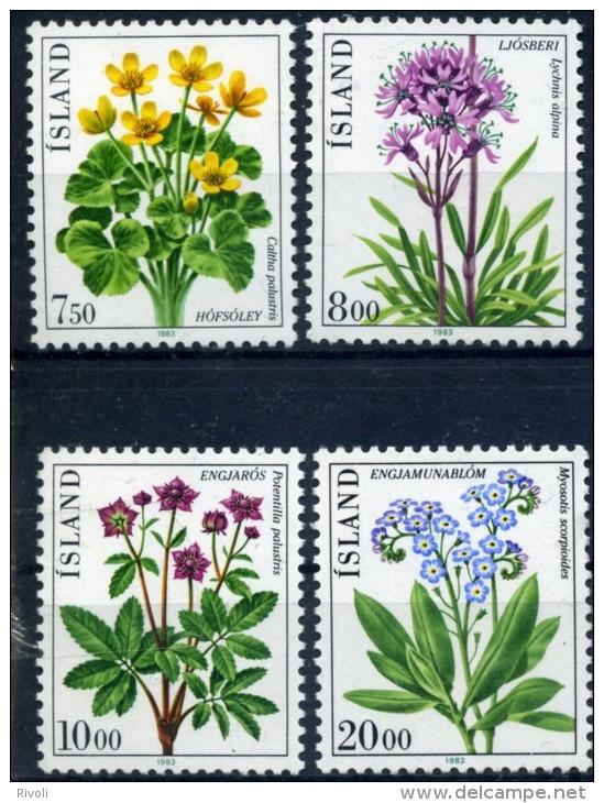 ISLANDE 1983 YVERT N° 545/48 LUXE **MNH - 1944-... Republic