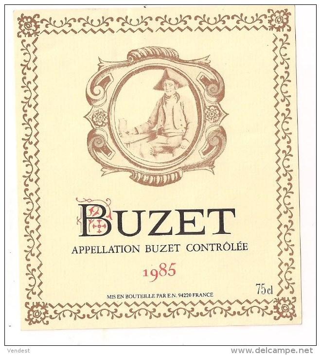 etiquette vin buzet