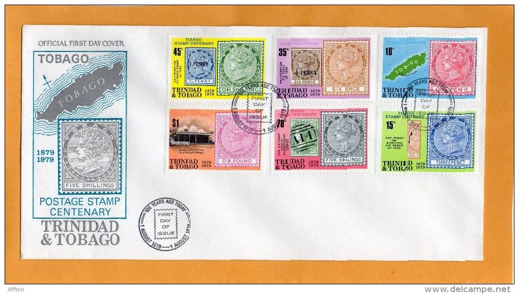 Trinidad & Tobago 1979 FDC - Trinidad & Tobago (1962-...)