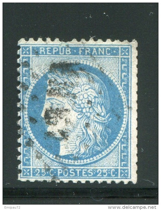 FRANCE- Y&T N°60C- ASNA - 1871-1875 Ceres