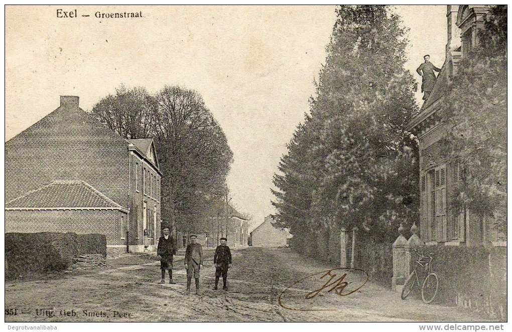 Exel: Groenstraat - Hechtel-Eksel