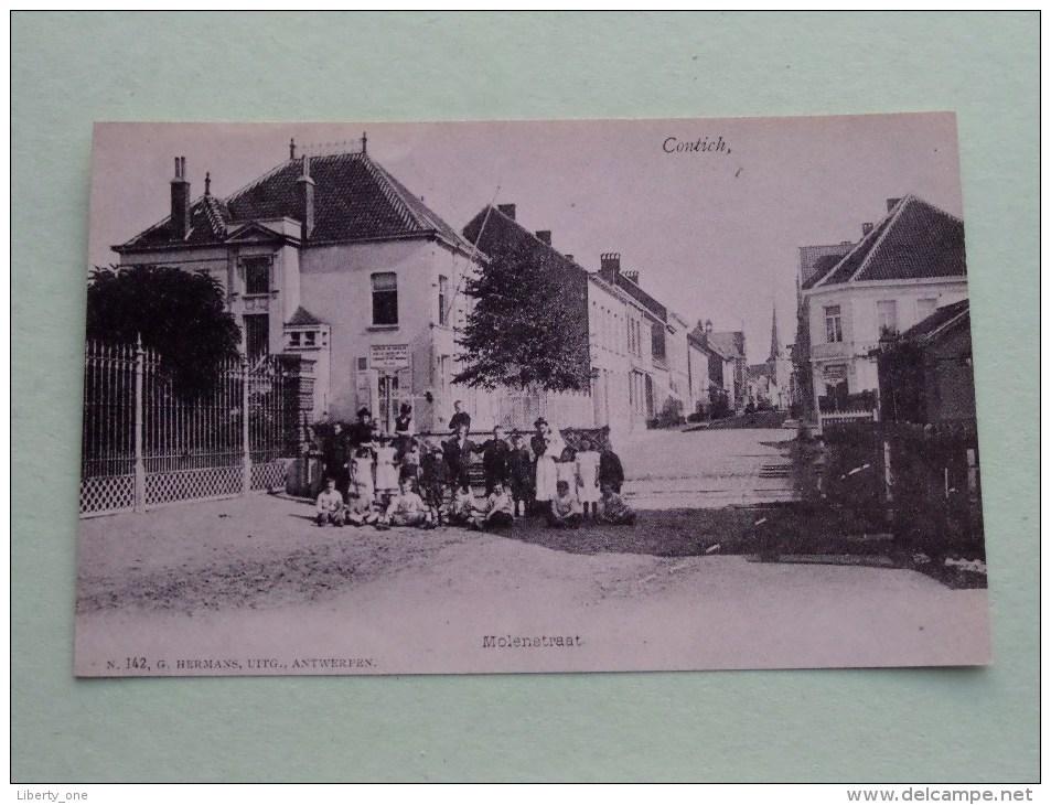Molenstraat Contich ( Copie Van Postkaart ) ( Zie Foto Voor Details ) - Kontich