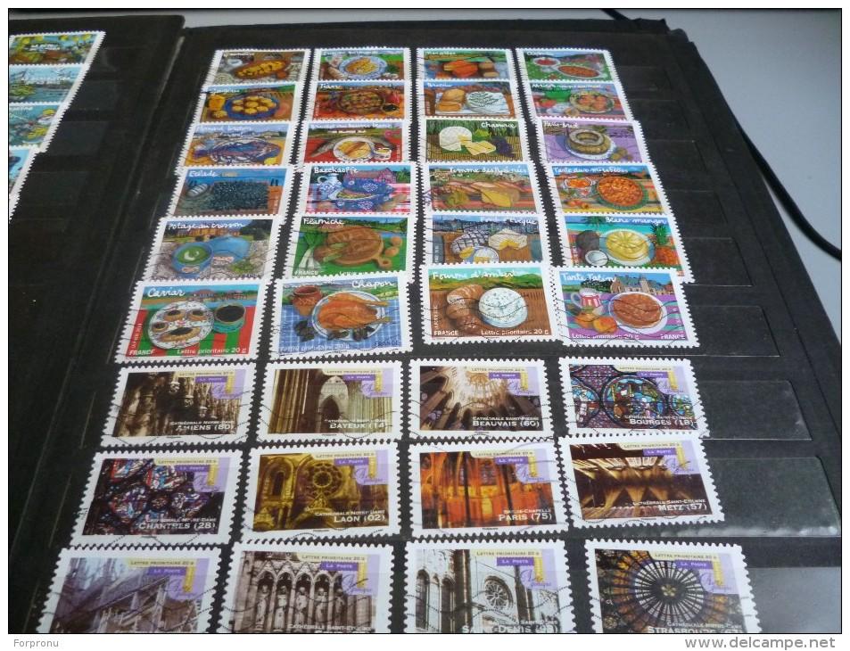 30 SERIES COMPLETES  De 12 Timbres  ANNEES /2012/2013/2014/2015 1er Choix - France
