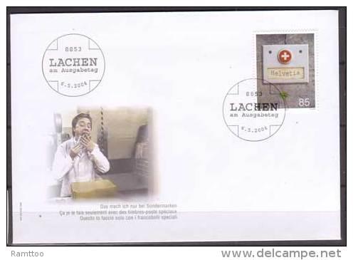 Schweiz , FDC , 2004 , Mi. Nr. 1878 - FDC