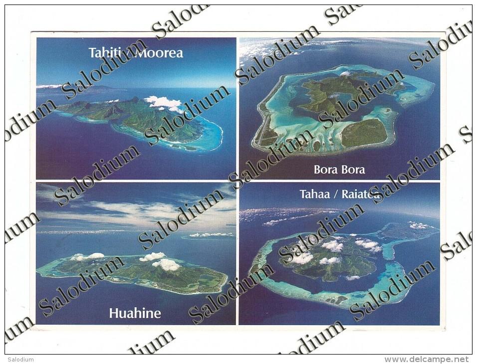 TAHITI MOOREA BORA BORA HUAHINE TAHAA RAIATEA - XXL CARD - Big Format - Tahiti