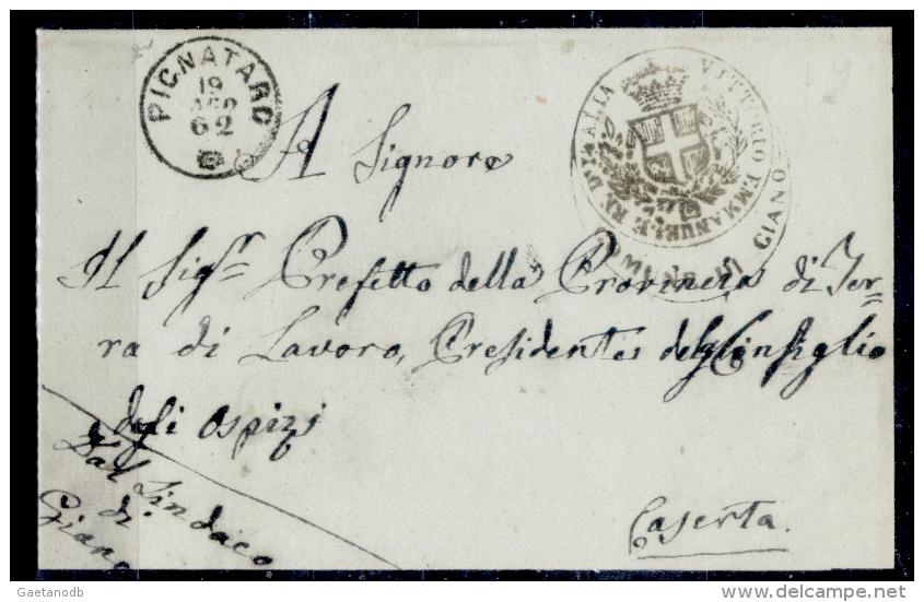 Pignataro 00575a - Storia Postale