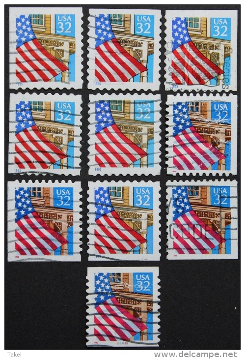 USA, Officiële Post USA - Postzegels