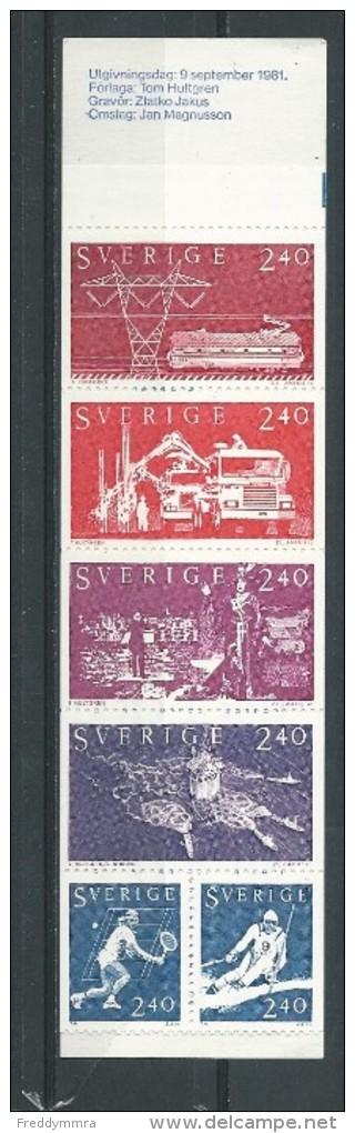 Suède: Carnet 1144 **  La Suède Dans Le Monde - Carnets