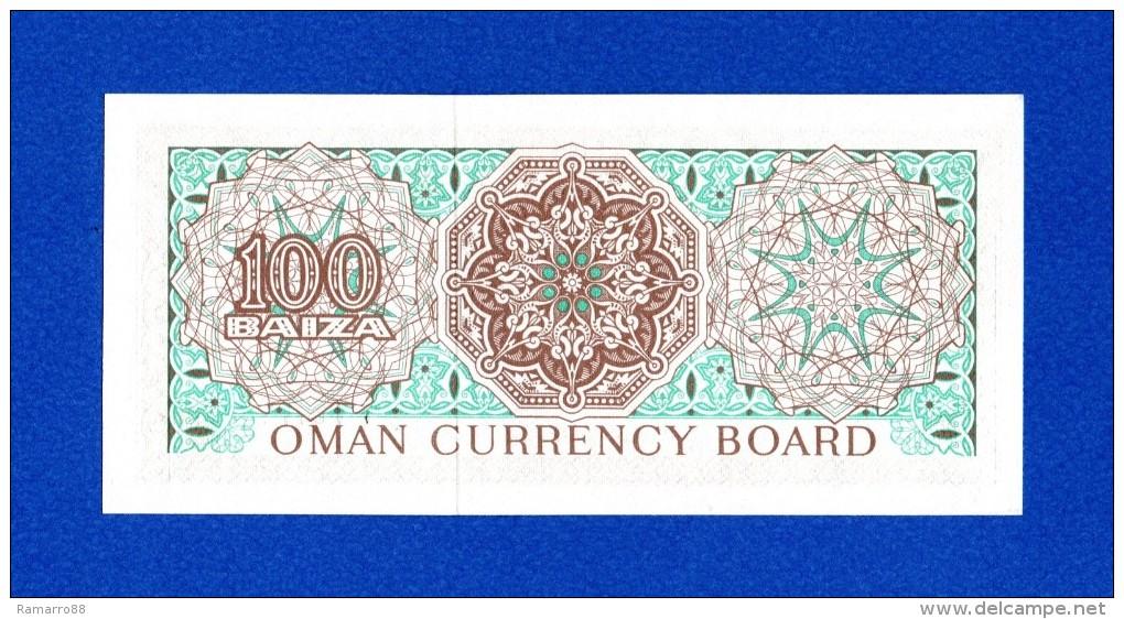 Oman 100 Baiza 1973 P7a Oman Currency Board UNC- - Oman
