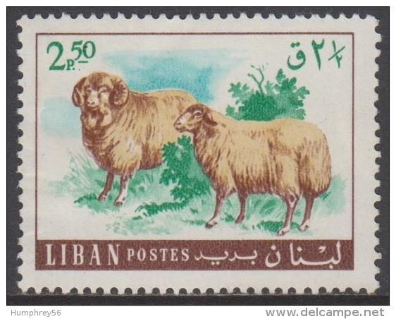 1968 - LIBAN - Y&T 271 (**/MNH) - Moutons/Sheep - Liban