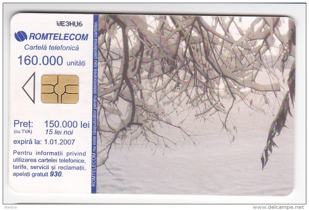 Romania   , Phonecard   , 2007 ,   Lighthouses ,   Used - Lighthouses