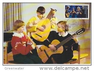 Berlin 1988 Jugend / Instrumentalgruppe  1v Maxicard (19319) - [5] Berlijn