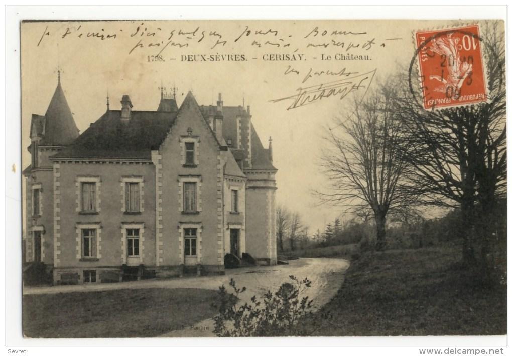 CERIZAY -  Le  Château. - Cerizay