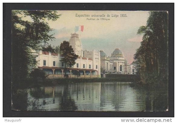 DF / BELGIQUE / LIEGE / EXPOSITION UNIVERSELLE DE LIEGE 1905 / PAVILLON DE L'AFRIQUE - Liege