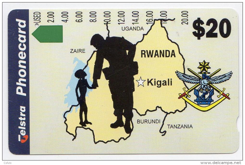 RWANDA REF MV CARDS RWA-03  20$ - Rwanda