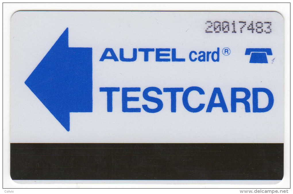 NIGERIA REF MV CARDS NGA-TM-2  N20 MAGNETIC SYSTEM TEST CARD - Nigeria