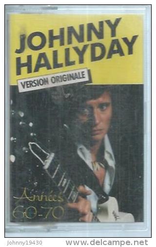 "K7 Audio - JOHNNY HALLYDAY "" L'IDOLE DES JEUNES ""  10 TITRES - Cassettes Audio"