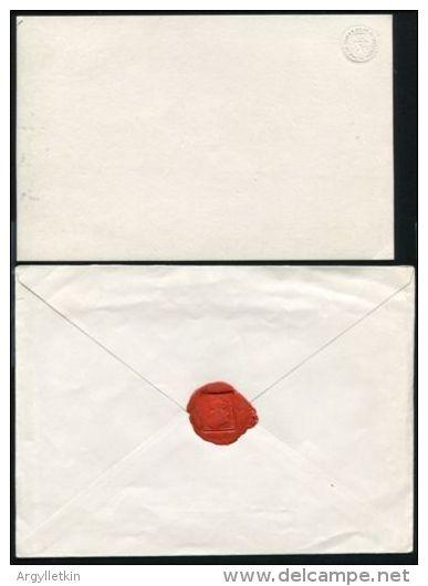 INVITATION & ENVELOPE KING LEOPOLD II BELGIUM TO JAMES HART NICARAGUA 1874 - Unclassified