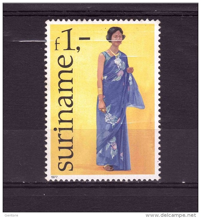 SURINAME 1977 Costume Yvert Cat N° 675 MNH ** - Surinam ... - 1975