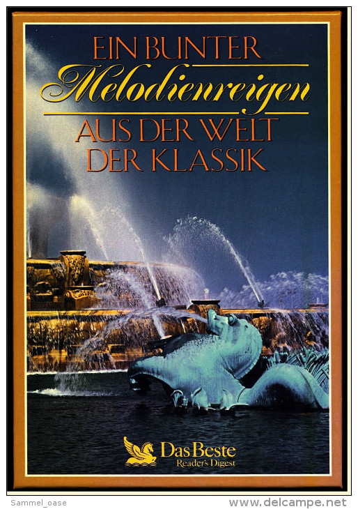 Ein Bunter Melodienreigen Aus Der Welt Der Klassik - 76 Titel Auf 4 Doppel-Musikkassetten - - Audiokassetten