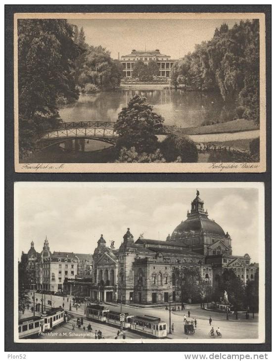 8569-LOTTO N°. 7 CARTOLINE FRANKFURT A.M.-FP - 5 - 99 Karten