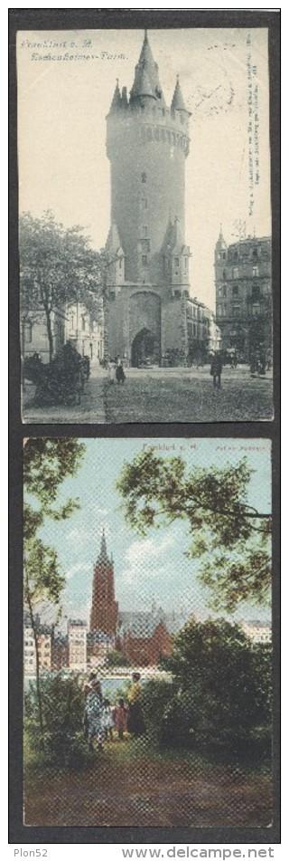 8569-LOTTO N°. 7 CARTOLINE FRANKFURT A.M.-FP - Ansichtskarten
