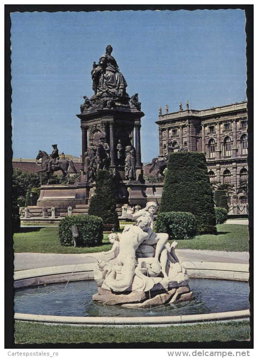 Wien-Vienna-kaiserin Maria Theresia Denkmal-unused,perfect Shape - Wien