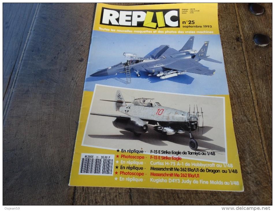 REPLIC N°25 Septembre 1993 - Littérature & DVD