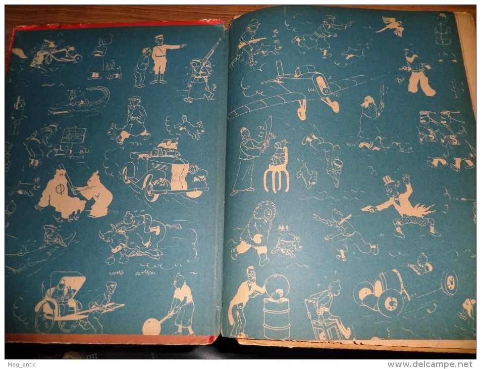 LLes Aventures De TINTIN  LE LOTUS BLEU  DR B1 1945/46/47  HERGE Ed. CASTERMAN - Tintin