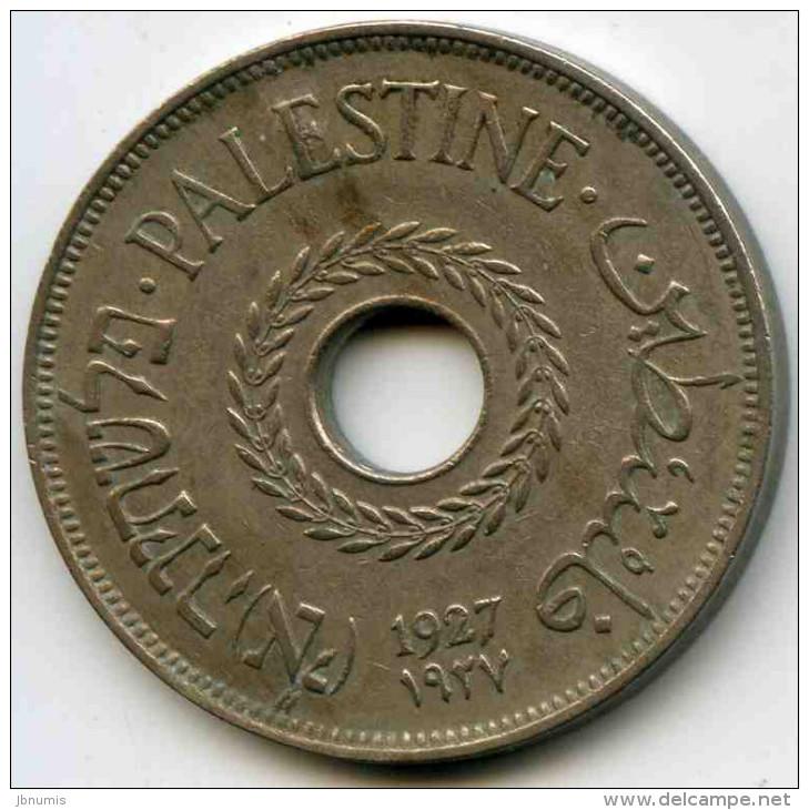 Israel Palestine 20 Mils 1927 KM 5 - Israel