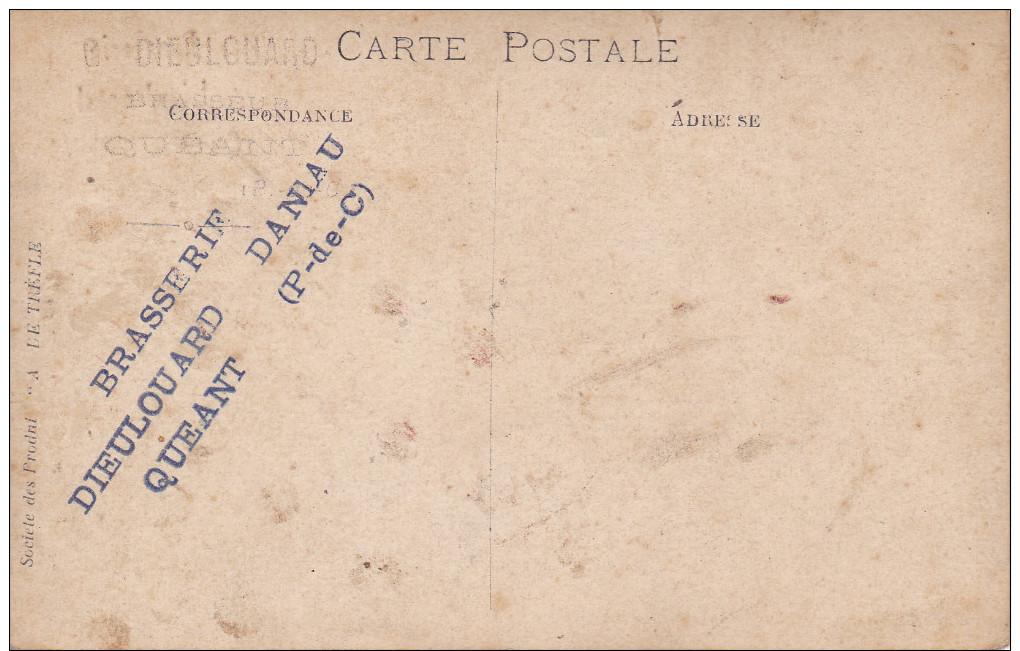 62 - Quéant -  Carte-photo De La Brasserie Dieulouard - Other Municipalities