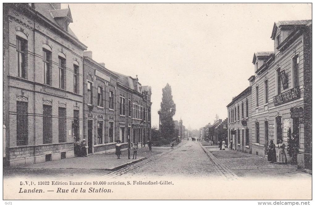 Landen - Rue De La Station - Landen
